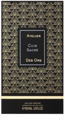 Atelier des Ors Cuir Sacré woda perfumowana unisex 4