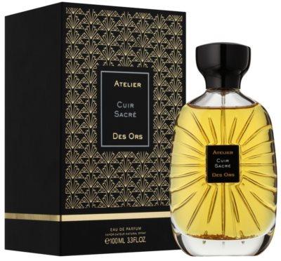 Atelier des Ors Cuir Sacré Eau De Parfum unisex 1