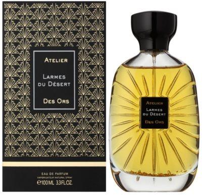Atelier des Ors Larmes du Desert Eau de Parfum unissexo