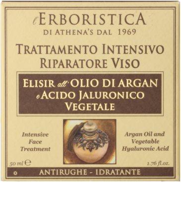 Athena's l'Erboristica Argan Oil Elixir крем для шкіри проти зморшок 1