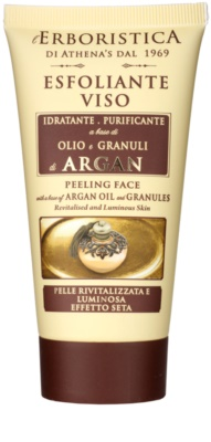 Athena's l'Erboristica Argan Oil Elixir pleťový peeling