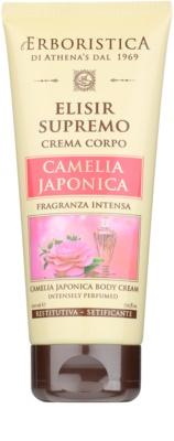 Athena's l'Erboristica Elixir Supreme crema corporal perfumada con aroma de camelia japónica