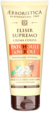 Athena's l'Erboristica Elixir Supreme parfümözött testápoló krém pacsuli és neroli kivonattal