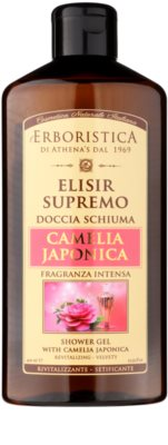 Athena's l'Erboristica Elixir Supreme parfémovaný sprchový gel s vůní japonské kamélie