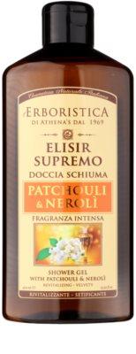 Athena's l'Erboristica Elixir Supreme parfumiran gel za prhanje z vonjem pačulija in neroli