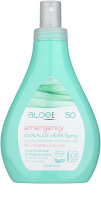 Athena's AloeBio50 Emergency test spray bőrirritáció ellen