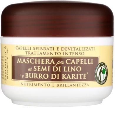 Athena's l'Erboristica Erboristica маскa с ленено масло  за суха и увредена коса