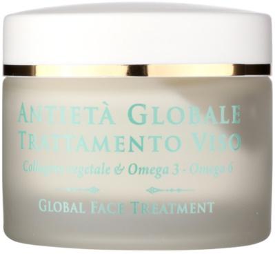 Athena's l'Erboristica Global Anti-Aging creme facial com fito-colágeno antirrugas