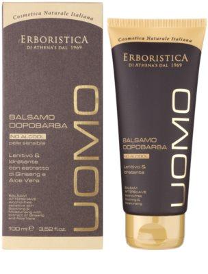 Athena's l'Erboristica Uomo borotválkozás utáni balzsam férfiaknak  alkoholmentes