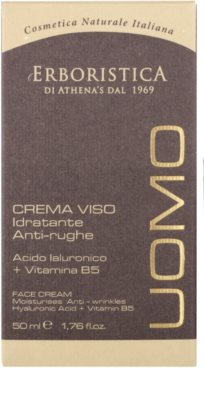 Athena's l'Erboristica Uomo crema facial antiarrugas para hombre 3