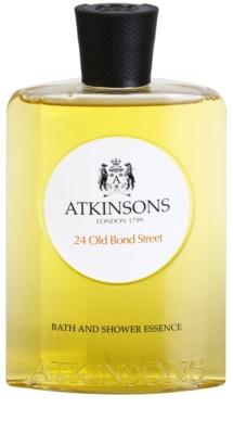 Atkinsons 24 Old Bond Street gel de duche para homens