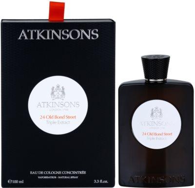 Atkinsons 24 Old Bond Street Triple Extract Eau de Cologne para homens