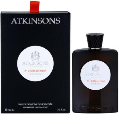 Atkinsons 24 Old Bond Street Triple Extract Eau De Cologne pentru barbati