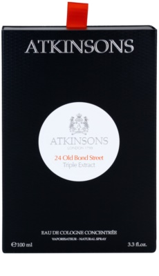 Atkinsons 24 Old Bond Street Triple Extract Eau de Cologne für Herren 5