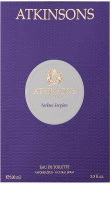 Atkinsons Amber Empire Eau de Parfum unisex 4
