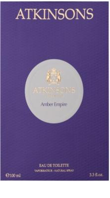 Atkinsons Amber Empire woda perfumowana unisex 4