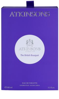 Atkinsons The British Bouquet toaletna voda uniseks 5