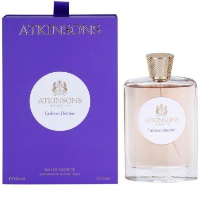 Atkinsons Fashion Decree Eau de Toilette für Damen