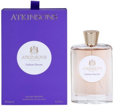 Atkinsons Fashion Decree eau de toilette nőknek