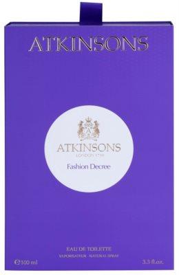 Atkinsons Fashion Decree Eau de Toilette für Damen 5