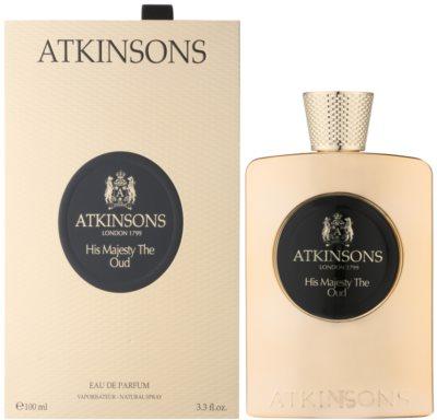 Atkinsons His Majesty Oud woda perfumowana dla mężczyzn