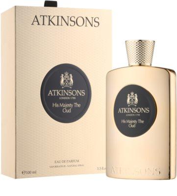 Atkinsons His Majesty Oud Eau de Parfum für Herren 1