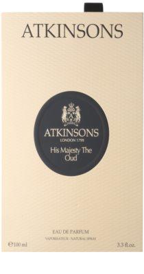 Atkinsons His Majesty Oud Eau de Parfum für Herren 4