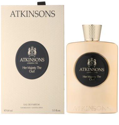 Atkinsons Her Majesty Oud Eau de Parfum para mulheres