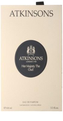 Atkinsons Her Majesty Oud eau de parfum nőknek 4