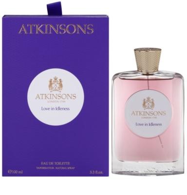 Atkinsons Love in Idleness Eau de Toilette para mulheres