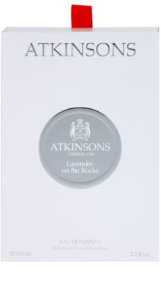 Atkinsons Lavender On The Rocks parfémovaná voda unisex 4