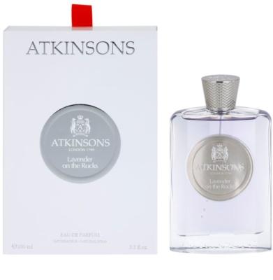 Atkinsons Lavender On The Rocks Eau De Parfum unisex