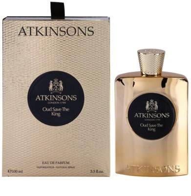 Atkinsons Oud Save The King Eau de Parfum für Herren