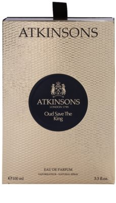 Atkinsons Oud Save The King eau de parfum férfiaknak 4