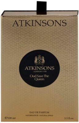 Atkinsons Oud Save The Queen eau de parfum para mujer 4