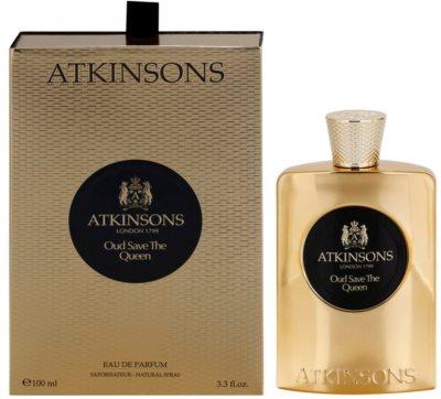 Atkinsons Oud Save The Queen Eau de Parfum para mulheres
