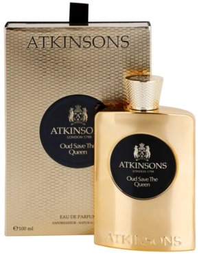 Atkinsons Oud Save The Queen eau de parfum para mujer 1