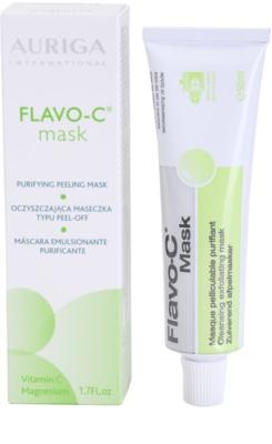 Auriga Flavo-C čisticí peelingová pleťová maska 2