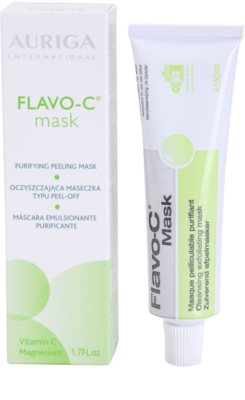 Auriga Flavo-C reinigende Peeling-Gesichtsmaske 2