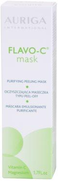 Auriga Flavo-C reinigende Peeling-Gesichtsmaske 3