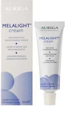Auriga Melalight crema impotriva petelor 1