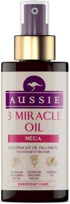 Aussie Mega ulei pentru păr fin și normal