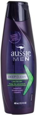 Aussie Men champô de limpeza profunda