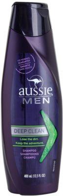 Aussie Men шампунь для глибокого очищення