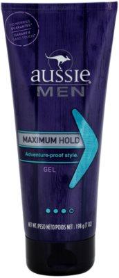 Aussie Men gel na vlasy silné zpevnění