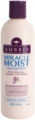 Aussie Miracle Moist Sampon pentru par uscat si deteriorat