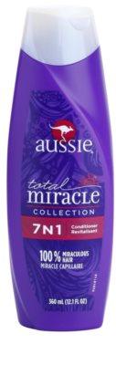 Aussie Total Miracle Collection Balsam pentru păr uscat și deteriorat.