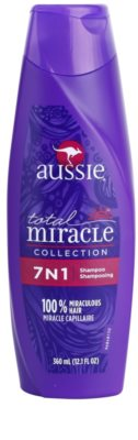Aussie Total Miracle Collection Sampon pentru par uscat si deteriorat