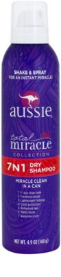 Aussie Total Miracle Collection champô seco em spray