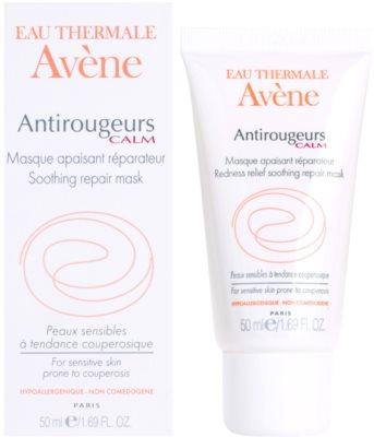 Avene Antirougeurs máscara facial calmante para a pele sensível com tendência a aparecer com vermelhidão 2